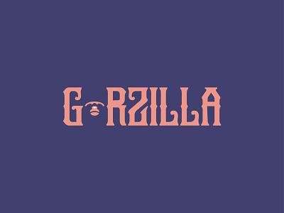 Gorzilla [Logo] illustration typography minimal logo design branding logo