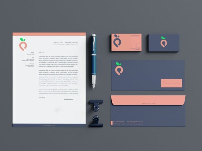 Client's Package design vector collaborate minimal logo branding