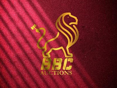AUCTION LOGO graphic design branding logo