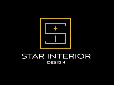 Star Interior Design design minimal flat logo