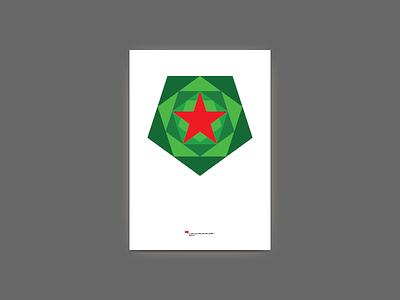 Yolka 2012 — New Year tree poster yolka graphic