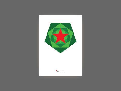 Yolka 2012 — New Year tree poster