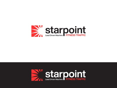 Starpoint Logo Mark symbol icon branding digital marketing logodesign logos logotype monogram logomark design logo