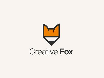 Creative Fox Logo design logos logotype symbol icon logodesign creative fox