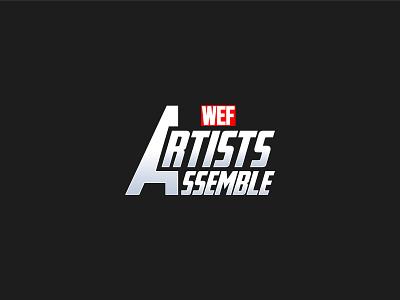 Artists Assemble Logo inspiration branding symbol icon logotype logo logodesign assemble artists