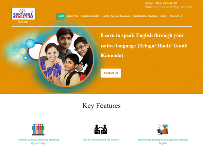 The Best Spoken English Institute in Hyderabad ui 3koti 3koti websolutions web designing companies digital marketing company e-commerce website design seo web design company website designing company web development company