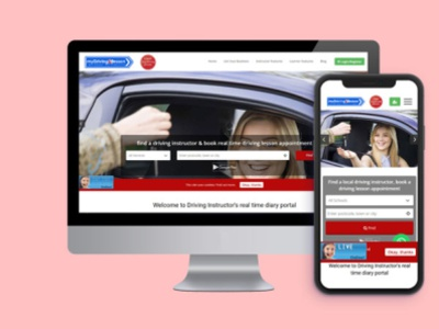 My Driving Lesson website development digital marketing company 3koti websolutions 3koti