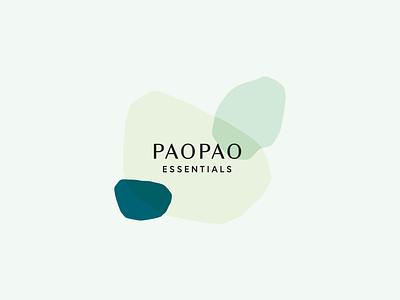 PaoPao Essentials brand design branddesigner logodesign pastel colors printdesign logo illustration logo design branding design art direction branding design