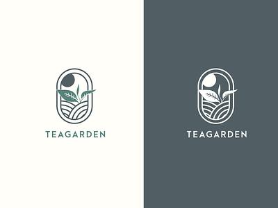 Teagarden Vintage Logo vector branding minimalist logo logodesign logo vintage logo design