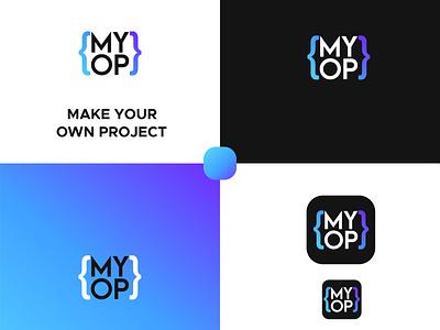 Make Your Own Project Logo gradientlogo branding minimalist logo logodesign graphic design logo modern modernlogo