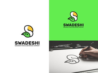 Swadeshi Logo design branding minimalist logo logodesign logo