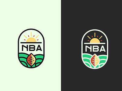 NBA Logo Design agro agrologo vintagelogo branding minimalist logo logo logodesign