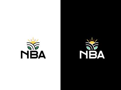NBA Logo Concept no-2 agro agrologo modernlogo branding minimalist logo logodesign logo