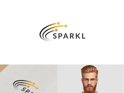 Sparkl Logo illustration animation logo vector illustrator branding typography minimal design creative logo
