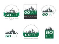Go Fit Gym Logos