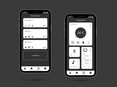 Daily UI   #015 On off Switch smarthome ux ui dailyuichallenge dailyui
