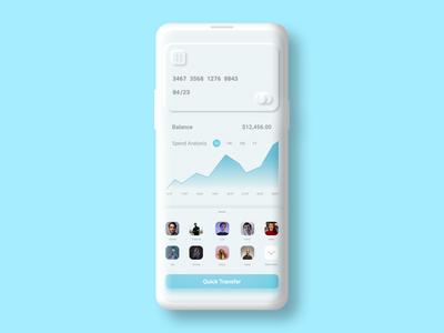 MINIMAL PAYMENT UI uxdesign uidesign minimalistic minimal neumorphic clean ui app ux ui design