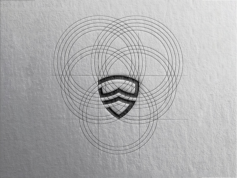 SHIELD + GOGGLES + MASK [SHIELD ME] illustraion illustrator logodesign logo design logo