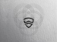 SHIELD + GOGGLES + MASK [SHIELD ME] illustraion illustrator logodesign logo design logo