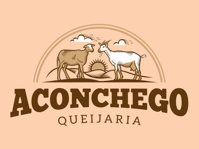 Cheese Shop Aconchego illustration illustration art logo design brand identity graphic design logo