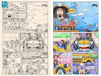 Spielberg's films comic illustration illustration art comic comic art