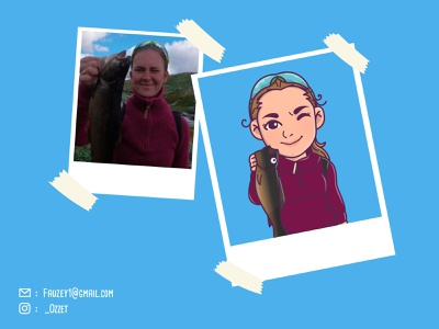 Cute Avatar minimalist kawaii cute illustration design vectorface custom avatar cartoon caricature illustration chibi avatar personal avatardesign avatar adobe illustrator cute