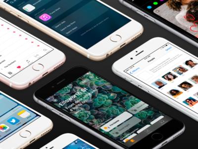 iOS 10 GUI for Sketch iphone ios sketch ui kit gui ios 10