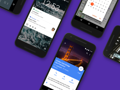 Android Gui ✨ Free — Material Design Kit ui kit material nougat android gui