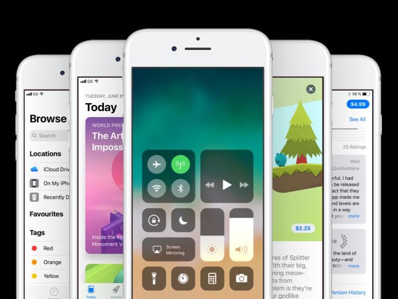 🍏 Fresh screens from iOS 11 GUI for Sketch by Artem Tarasov