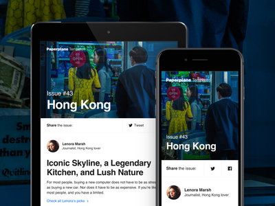 ✈️ Paperplane – Digest templates shopify mailchimp notification digest sketch html responsive helvetica email email template