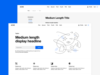 New Website Wireframes – Now available at Design Files website typography helvetica prototype wireframe platforma wireframes