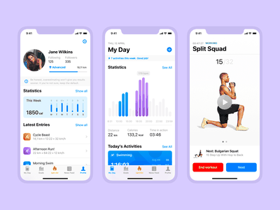 iOS Native Templates – Now with 60% off discount elements app ui kit iphone templates ui ios