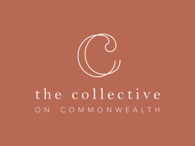 The Collective on Commonwealth - Logo Design icon typography branding logo design logo