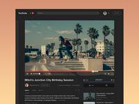 YouTube Video Page (WIP)