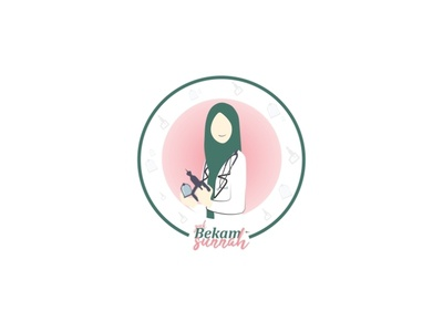 Muslim Medical Icon Logo animation illustration icon community dribbble invite dribbble logo branding