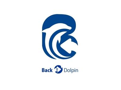 Dolpin animation icon community dribbble invite dribbble branding logo