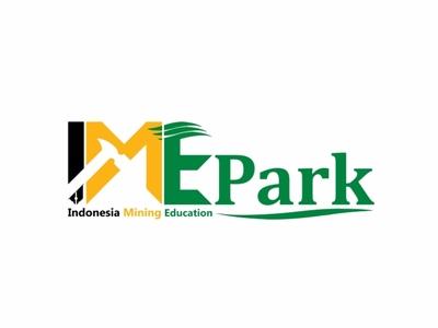 Indonesia Mining Education Park Logo icon community dribbble invite dribbble logo branding