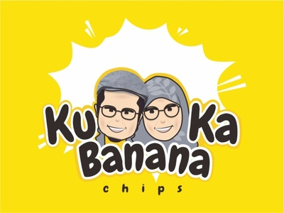 Banana Chips Logo animation icon community dribbble invite dribbble logo branding
