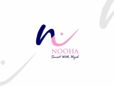 Nooha Hijab Logo icon community dribbble invite dribbble logo branding