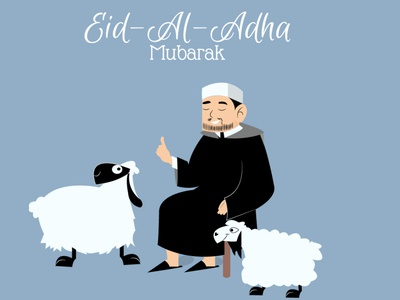 Eid Al Adha illustration