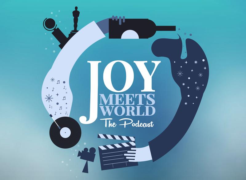 Joy Meets World Logo logo design adobe illustrator adobe illustration