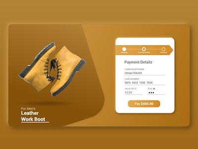 UI for Credit Card Checkout. uidesigners uitrends design dailyui002 dailyui userinterface ui design ux ui