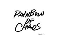 Rainbow of chaos...