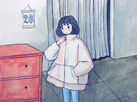 So cold...
