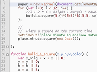 Building Squares with Raphaël.js