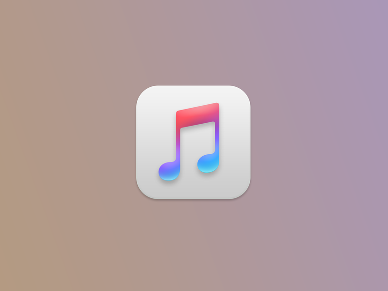 If iTunes has that Big Sur bevel, drop shadow, and underglow itunes macos11 macos big sur macos big sur