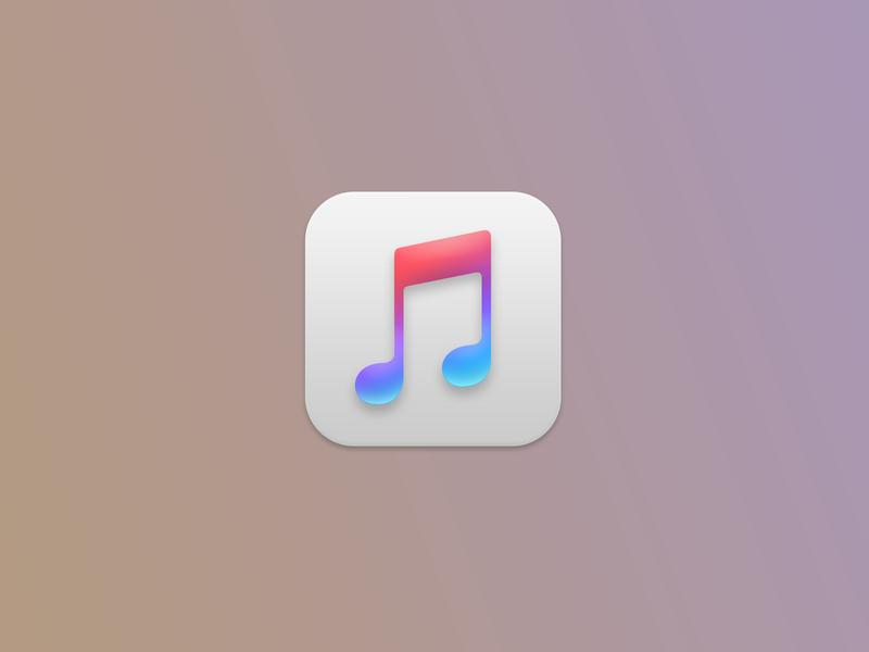 If iTunes has that Big Sur bevel, drop shadow, and underglow itunes macos11 macos big sur macos big sur