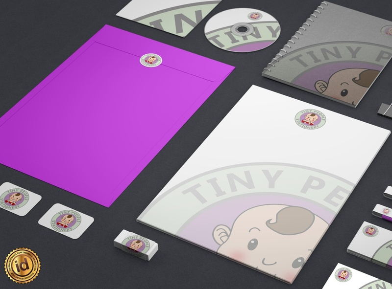 Tiny People Stationary coroporate branding design logodesign