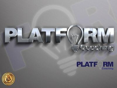 Platform Coaching self help brand design life coach coaching logo vector logodesign logo design branding design