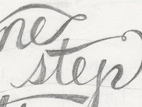 One Step—Preliminary Sketch